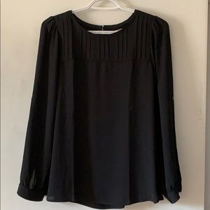 LOFT Black blouse